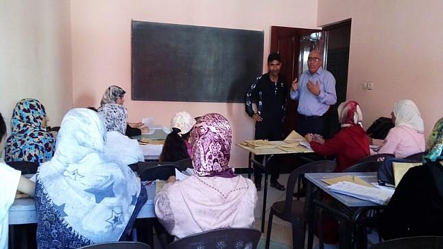 سابقة في خريبكة: تقويم إشهادي لفائدة 24 ألف مستفيد ومستفيدة من محاربة الأمية