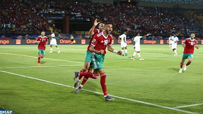 كأس إفريقيا للأمم (مصر 2019): المنتخب المغربي يتأهل إلى ثمن النهائي بعد فوزه على الفيلة