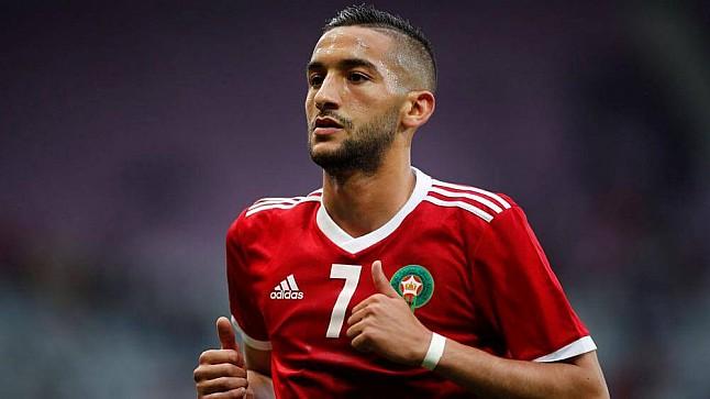 أسهم حكيم زياش تهوي بعد مشاركته في كأس الأمم الإفريقية