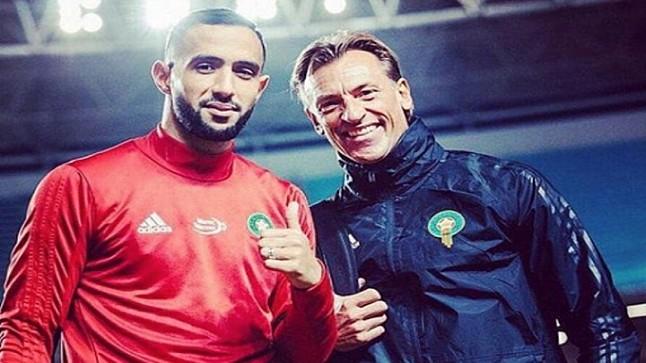 """عميد منتخب المغرب يُودع """"الثعلب"""" الفرنسي برسالة مؤثرة"""