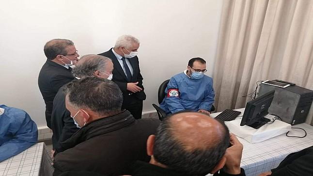 وزير الصحة يواكب عملية التلقيح بإقليم خريبكة