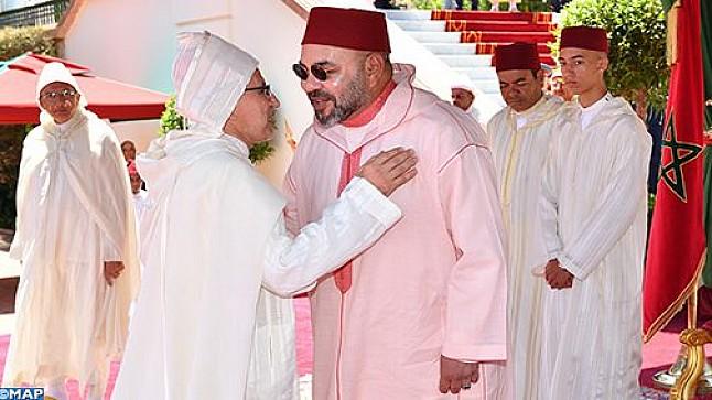 الملك يترأس بطنجة حفل استقبال بمناسبة عيد العرش المجيد