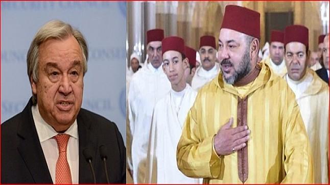 الأمين العام للأمم المتحدة يهنئ الملك بمناسبة عيد العرش