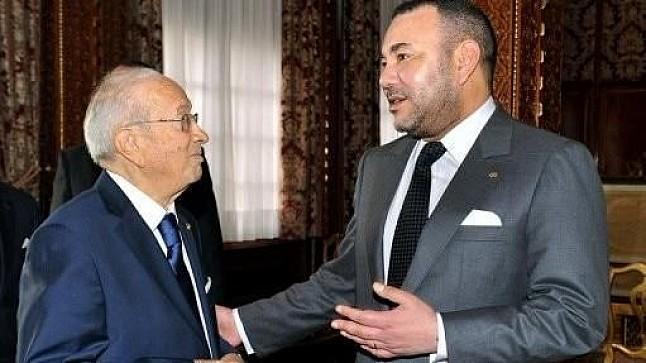 الملك يعزي في وفاة السبسي: كان حكيما وأحد رجالات تونس الكبار