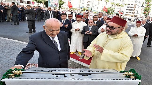 """الملك يطلق اسم """"عبد الرحمان اليوسفي"""" على فوج الضباط الجدد"""
