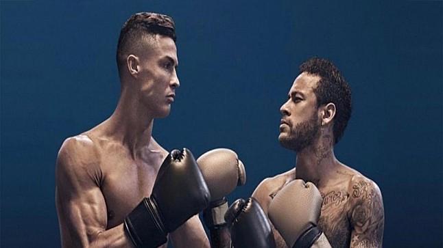 رونالدو ونيمار على حلبة ملاكمة..مالقصة ؟