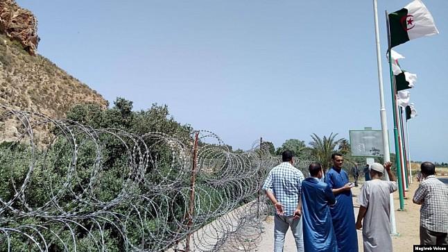 جزائريون يطالبون بإعادة فتح الحدود مع المغرب