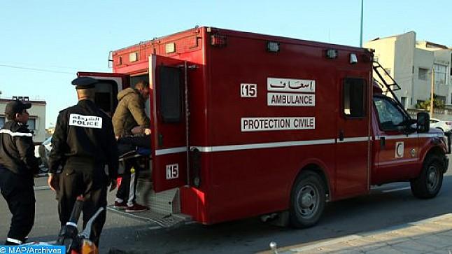 قاصر يتسبب في إصابة 14 شخصا بجروح متفاوتة الخطورة بينهم 10 سياح