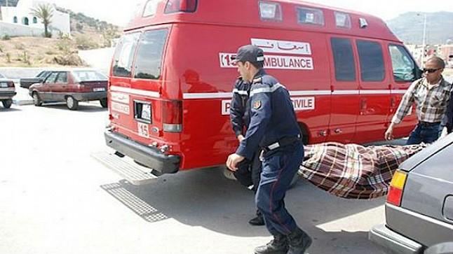 """""""الضباب الكثيف"""" يتسبب في حادثة سير خطيرة بين تافراوت وتيزنيت"""