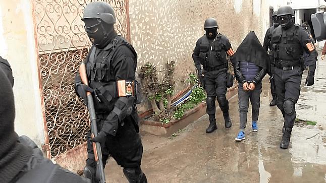 الداخلية : الخلية الإرهابية المُفكٓكة بالريف كانت تتدربُ على صناعة المتفجرات