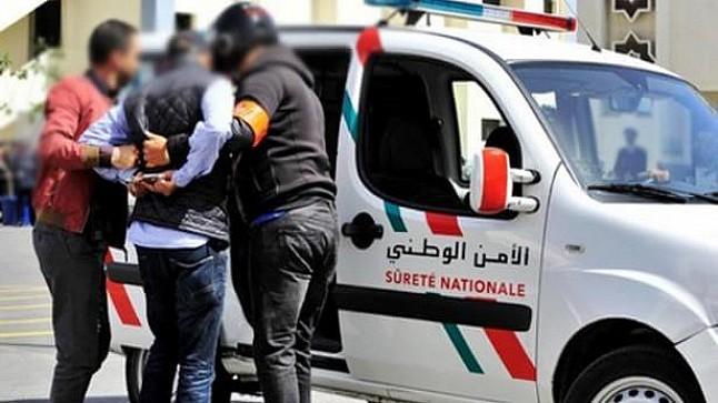 توقيف متورطين في الاحتجاز والاغتصاب وإصابة شرطي بالقنيطرة