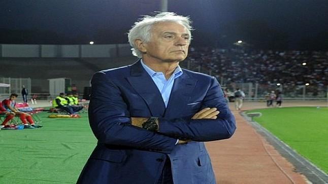 مدرب منتخب المغرب حليلوزيتش يُهين لاعبي الدوري المحلي