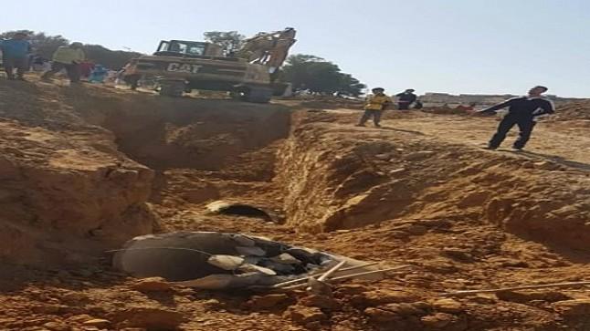 وفاة عاملين إثر انهيار التربة بورش للبناء في تيفلت