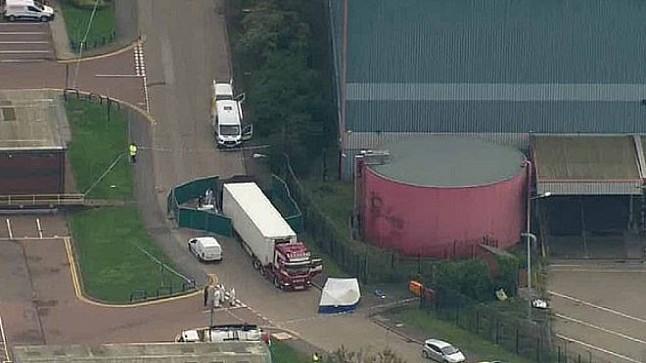 جديد قضية العثور على 39 جثة داخل شاحنة