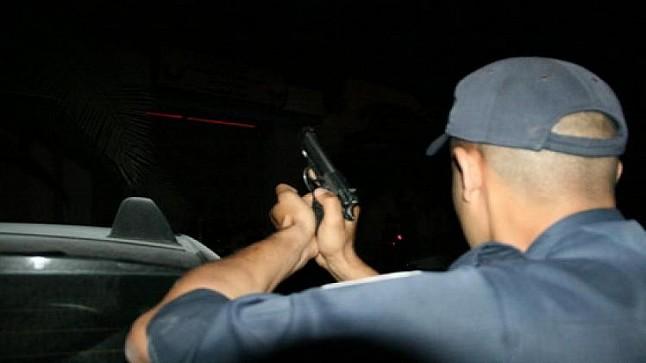 شرطة فاس ترد على رصاص عصابة مخدرات خطيرة بمدخل المدينة