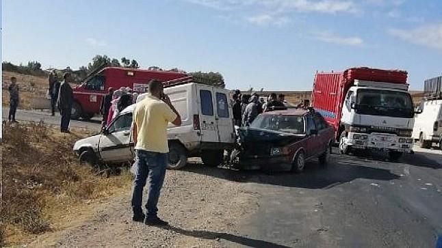 جرحى في حادث سير مروع بإقليم سطات
