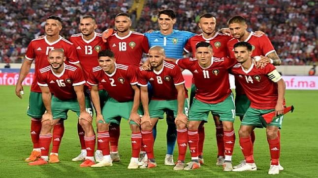 """المنتخب المغربي يتراجع في ترتيب """"الفيفا"""""""