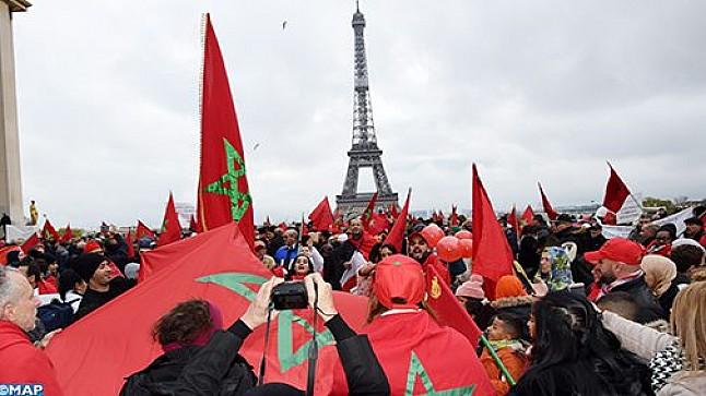 إهانة العلم الوطني : مغاربة أوروبا يتظاهرون بباريس