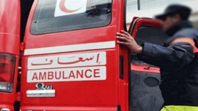 """30 مصابا من نساء وأطفال في انقلاب """"بيكوب"""" بسيدي بنور"""