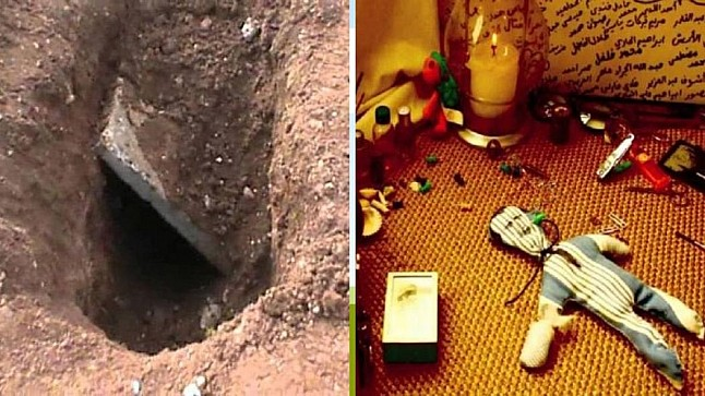 مجهولون ينبشون قبر رضيعة ويبترون أطرافها للقيام بأعمال الشعوذة