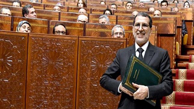 رئيس الحكومة سعد الدين العثماني يهنئ المغاربة