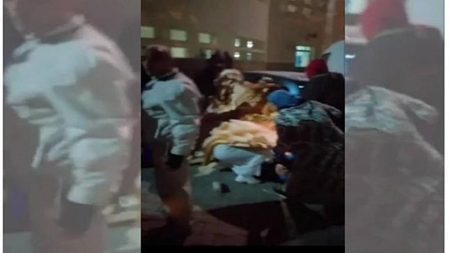 فيديو يوثق ولادة سيدة بالشارع العام بفاس يثير سخط الفيسبوكيين