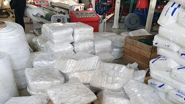 طنجة.. حجز أزيد من 7 أطنان من الأكياس البلاستيكية الممنوعة