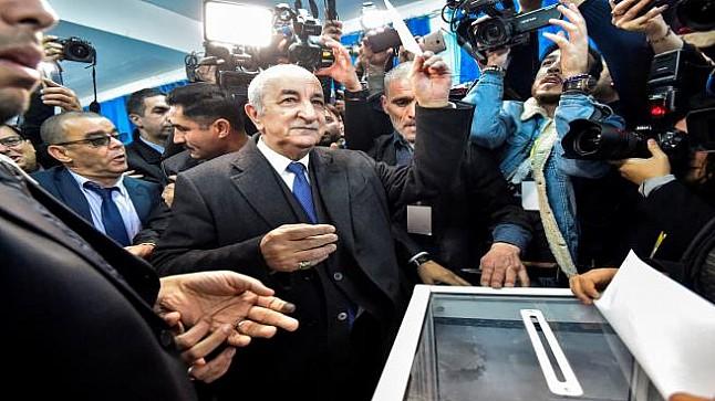 الإعلان رسميا عن فوز عبد المجيد تبون بانتخابات الرئاسة الجزائرية