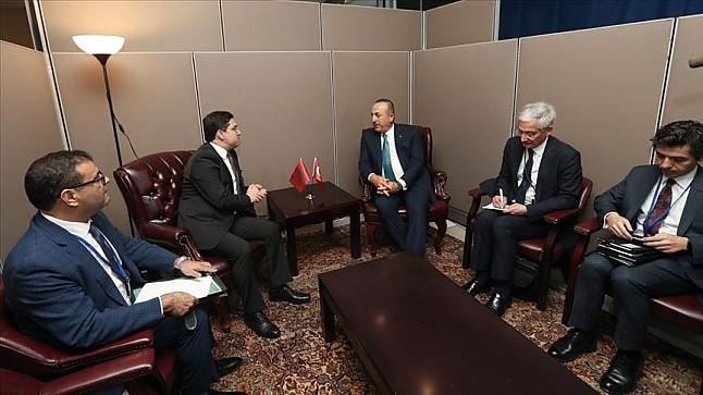 بوريطة: بحثت مع وزير الخارجية التركي قضايا إقليمية وتطوير الشراكة