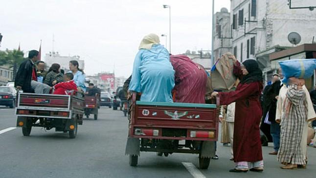 رسمياً/ منع نقل الأشخاص على متن دراجات تريبورطور