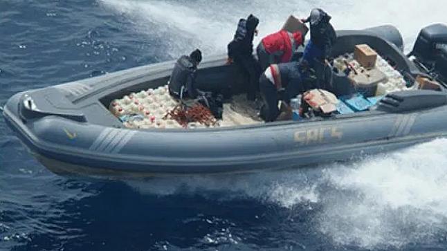 مقتل مهرب على يد البحرية المغربية خلال إحباط عملية تهريب كمية كبيرة للمخدرات