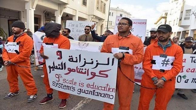 """نقابة """"البيجيدي"""" تتهم أمزازي بتجاهل مطالب أساتذة """"الزنزانة 9"""" وحرمانهم من حقهم المشروع في الترقية"""