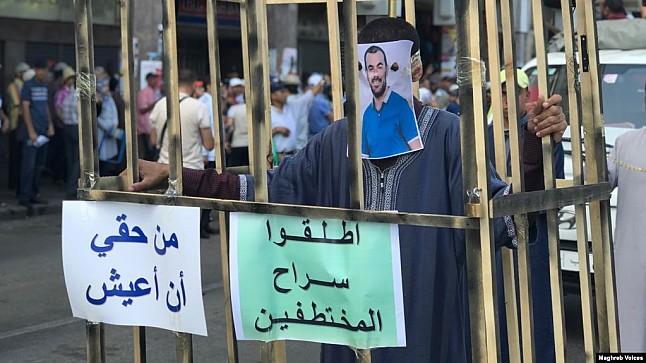 الزفزافي الأب: نشطاء الحراك معتقلون سياسيون