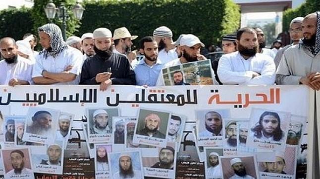 """لجنة دعم """"المعتقلين السلفيين"""" تتهم إدارة سجن مول البركي بـ""""خنق"""" معتقل محكوم بالمؤبد"""