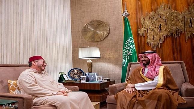 الهمة ينقل رسالة شفوية من الملك محمد السادس إلى ولي العهد السعودي