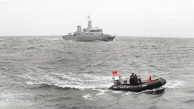 ضمنهم 22 امرأة.. البحرية المغربية تنقذ 111 مهاجرا بعرض المتوسط