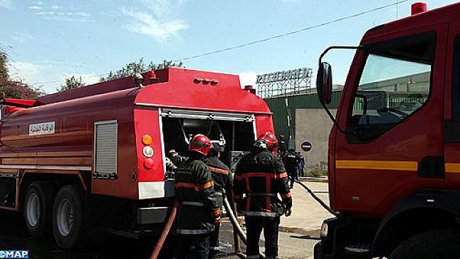أكادير .. اندلاع حريق بمخزن إحدى الثكنات العسكرية