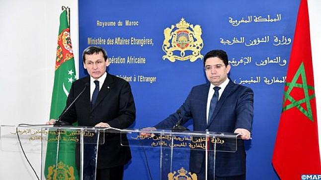 المغرب-تركمانستان: إرادة مشتركة لتعزيز أكبر للعلاقات الثنائية