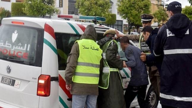 """توقيف نحو 450 شخصا لخرقهم """"حالة الطوارئ الصحية"""" بالمغرب"""