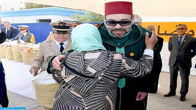 بمناسبة رمضان.. الملك يأمر بانطلاق توزيع الدعم الغذائي ل600 ألف أسرة معوزة
