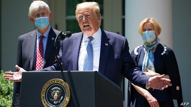 ترامب: لن نغلق البلاد حال حدوث موجة ثانية من كورونا