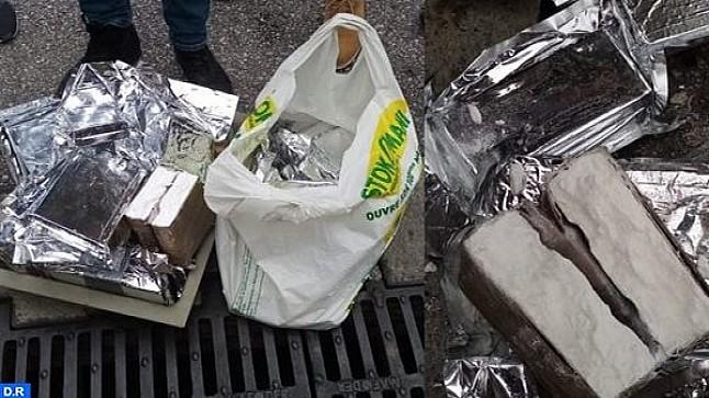 حجز 25,5 كيلوغرام من مخدر الكوكايين بميناء طنجة المتوسط