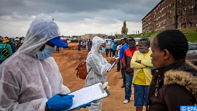 كوفيد-19 .. الحالة الوبائية بالقارة الإفريقية في أرقام