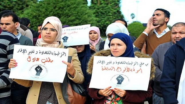 اساتذة الشهادات يهددون بالعودة للاحتجاجات بعد تماطل الوزارة في تلبية مطالبهم