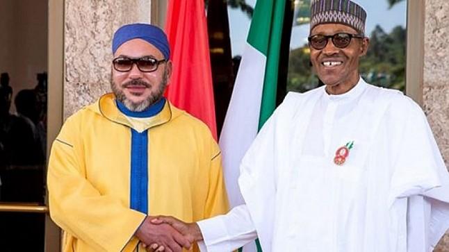"""الملك يهاتف الرئيس النيجيري…وحديثهما عن خط الغاز """"نيجيريا-المغرب"""" ومصنع للأسمدة"""