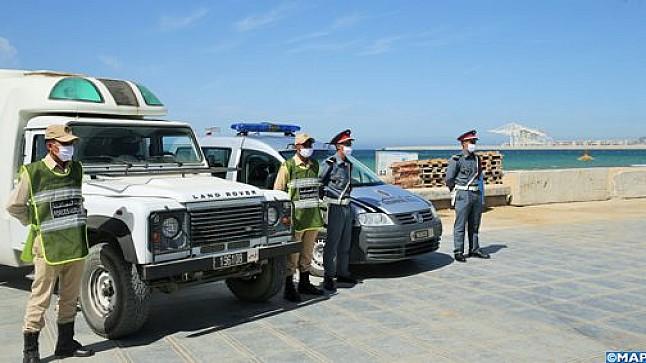 كوفيد -19 : إغلاق الشواطئ التابعة لإقليم الفحص أنجرة