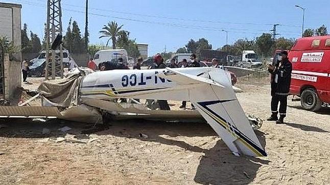 حادث سقوط طائرة بالقنيطرة: مكتب التحقيقات وتحليل حوادث الطيران المدني يفتح تحقيقا