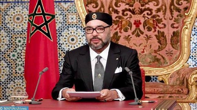 الملك محمد السادس يوجه غدا الخميس خطابا ساميا إلى شعبه