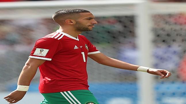حكيم زياش يصنف ثالث أفضل صانع أهداف في دوري عصبة الابطال