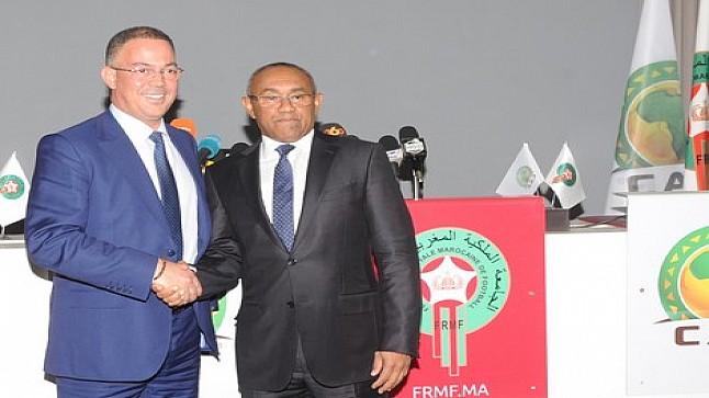 المغرب يتصدر تصنيف الاتحاد الإفريقي لكرة القدم